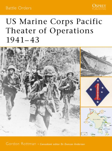 US Marine Corps Pacific Theater of Operations 1941–43 (Battle Orders Book 1) (English Edition)