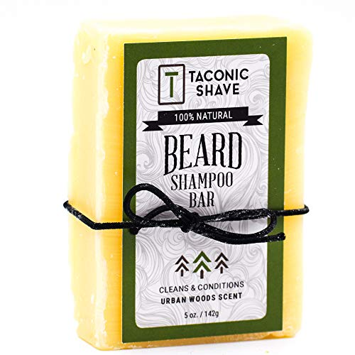Taconic Shave Beard Shampoo Bar - All Natural/Handcrafted - 5 Oz. (Health and Beauty)