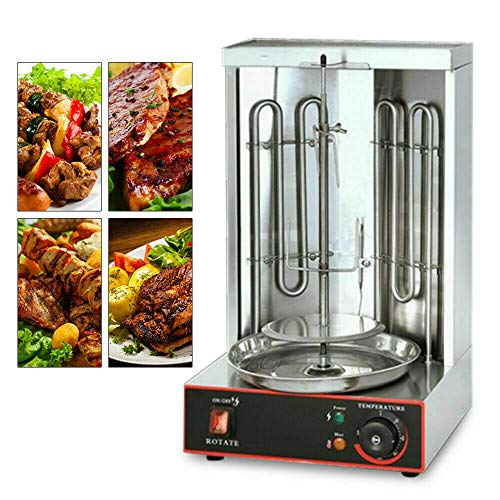 Grill Vertical pour Kebab, Rôtissoire Rotatif Kebab Machine