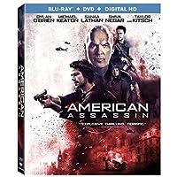 American Assassin Blu-ray + DVD Dylan O'Brien
