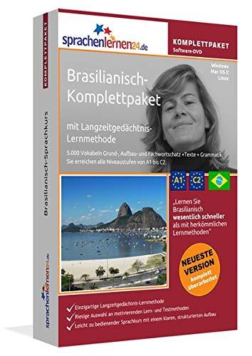 Brasilianisch Sprachkurs: Fließend Brasilianisch lernen. Lernsoftware-Komplettpaket