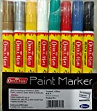 Soni Officemate Paint Markers - Pack of 8