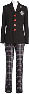 starfun Persona 5 P5 Joker Protagonist Cosplay Costume Akira Kurusu Shujin Academy School Uniform Suit