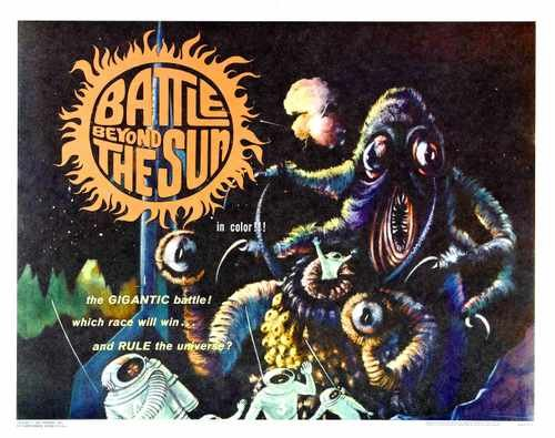 Battle Beyond Sun Poster 02 Metal Sign A4 12x8 Aluminium