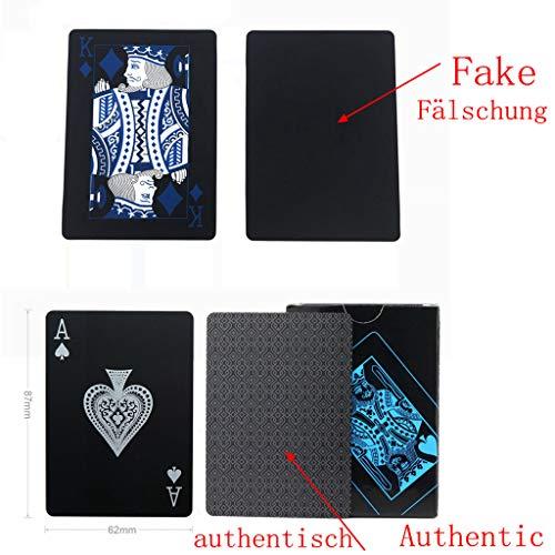 Schwarze Pokerkarten - 2
