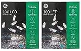 Nicholas Holiday Inc GE 100 Miniature White LED Light String -2 Pack