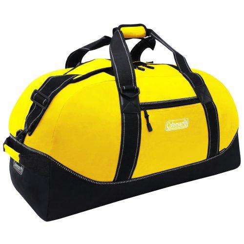 Coleman Explorer Camping Duffel Bag, Yellow, 32-Inch