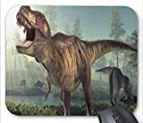 Jurassic Park Might Dinosaurs Mouse pad 7x8.66 inch