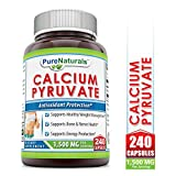 Natural Calcium Pyruvates - Best Reviews Guide