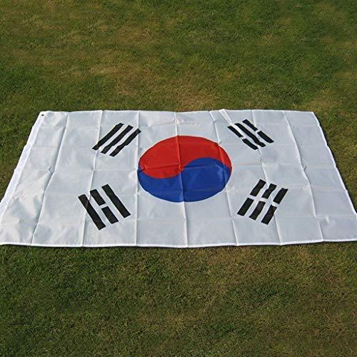 90 X150cm Zuid-Korea-Koreaanse Vlag Banner, Vlaggen hoogwaardig polyester Fabrics Flag