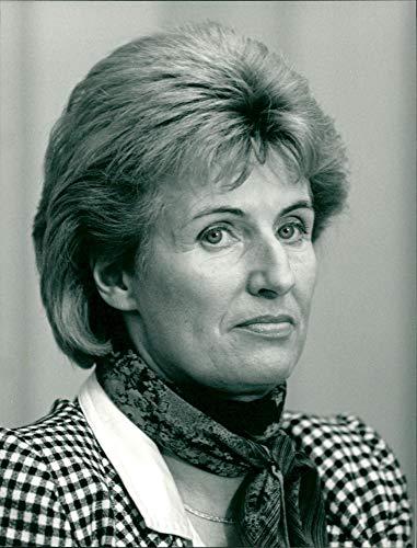 FDP-Politikerin Cornelia Schmalz-Jacobsen - Vintage Press Photo