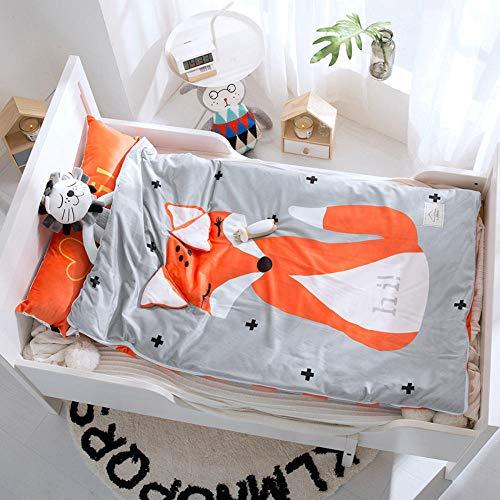 Baby-Schlafsack Anti-Kick-Quilt Baumwolle Baby-Quilt 150cm1-7 Jahre alt-Fuchs schlafsack für kleinkinder baby schlafsack