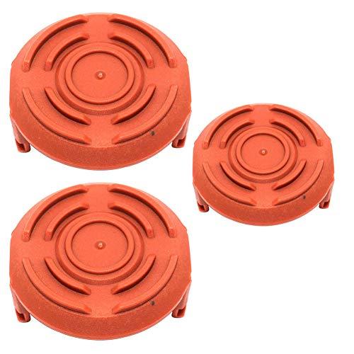 SeekPro 50006531 Spulenkappenabdeckungen für Worx WA6531 GT Trimmer Teileersatz (3er Pack)