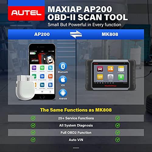 Autel MaxiAP AP200 Obd2 Scanner Bluetooth Auto OBDII Diagnostic Scan Tool