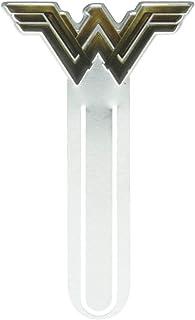 Marca Página Alumínio, Urbano, DC Mulher Maravilha Movie Fancy Logo, Dourado