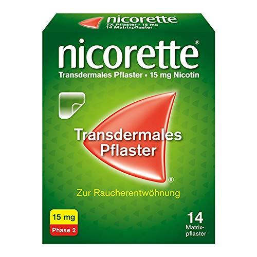 NICORETTE TX Pflaster 15 mg 14 St