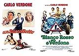Carlo Verdone: Un sacco bello + Bianco Rosso e Verdone (2 film in DVD) Ed. Italiana