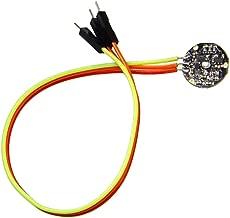 KESOTO Módulo De Sensor De Frecuencia Cardíaca De Pulso De 5 V para Arduino Raspberry Pi, Ideal para Atletas Y Desarrolladores