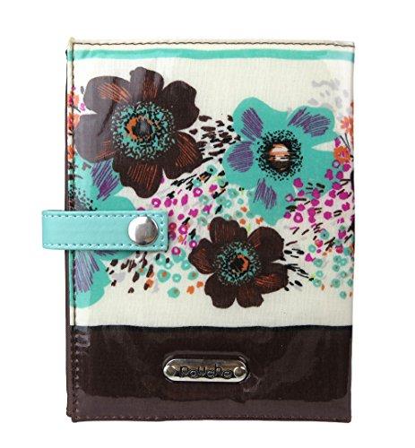 ポーチェ(pouche) ブックカバー 母子手帳カバー A6サイズ 文庫本サイズ (ブルー)