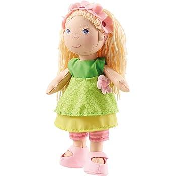 HABA Little Friends BAMBOLA KatjaMINI BAMBOLA ca 9,5 cmpiegatura BAMBOLA a partire da 3 anni