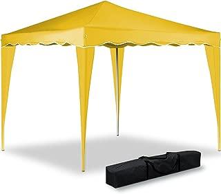 Deuba Pabellon de Jardin cenador Capri Amarillo 3x3 m Carpa