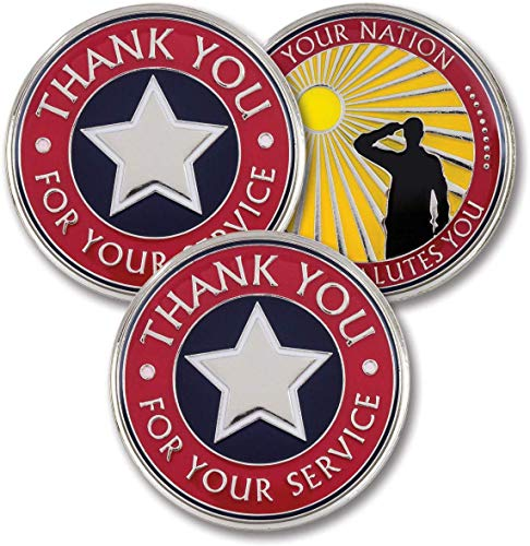 Thank You for Your Service – Military Pocket Coins – AttaCoin Veteran...