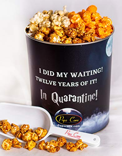 Pops Corn 1 Gallon 12 Years Waiting - Harry Potter! 3 Flavors FREE sanitary scooper.