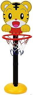 Kids Basketball Hoop and Stand, Child Basketball Set Kids Board Games Basketball Back Board Stand Hoop Set, 50-113cm Heigh...