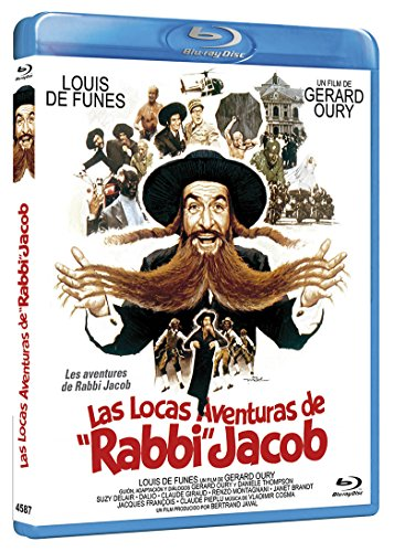 Las Locas Aventuras BD 1973 Les Aventures de Rabbi Jacob [Blu-Ray] [Import]