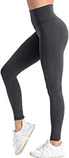 High Waisted Leggings for Women - Soft Athletic Tummy Control Pants for Running Cycling Yoga Workout.