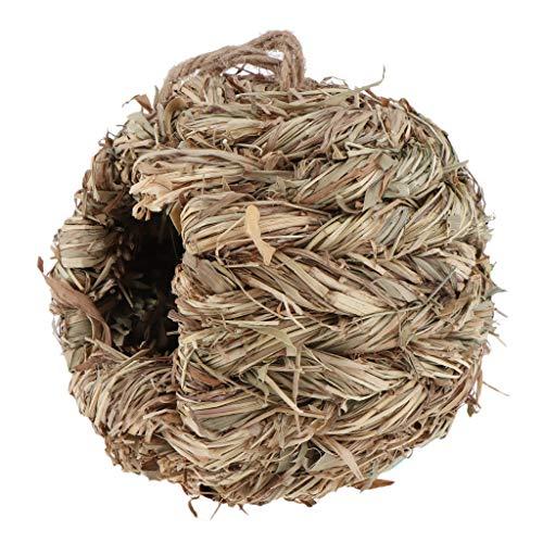 B Blesiya Nid D'oiseau Nichoirs Oiseaux Gourd D'incubation Paille - B: Herbe Ronde