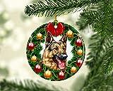 None-brands Decoración de Navidad 2020 Adorno de Pastor Alemán, adornos y decoraciones de Navidad de...