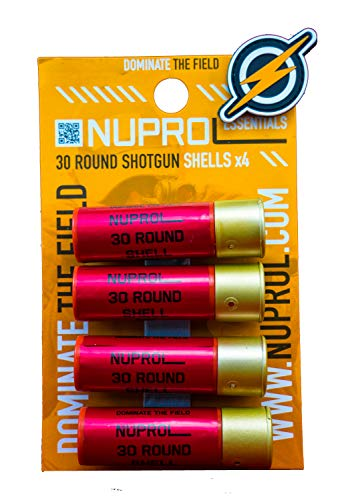 First and Only Airsoft Airsoft gun - Shotgun 30 round shells/magazine/cartage x 4 and patch
