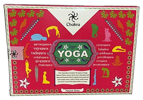 YesMandala Incienso ZED Black - Yoga - 12 Cajas de 15g