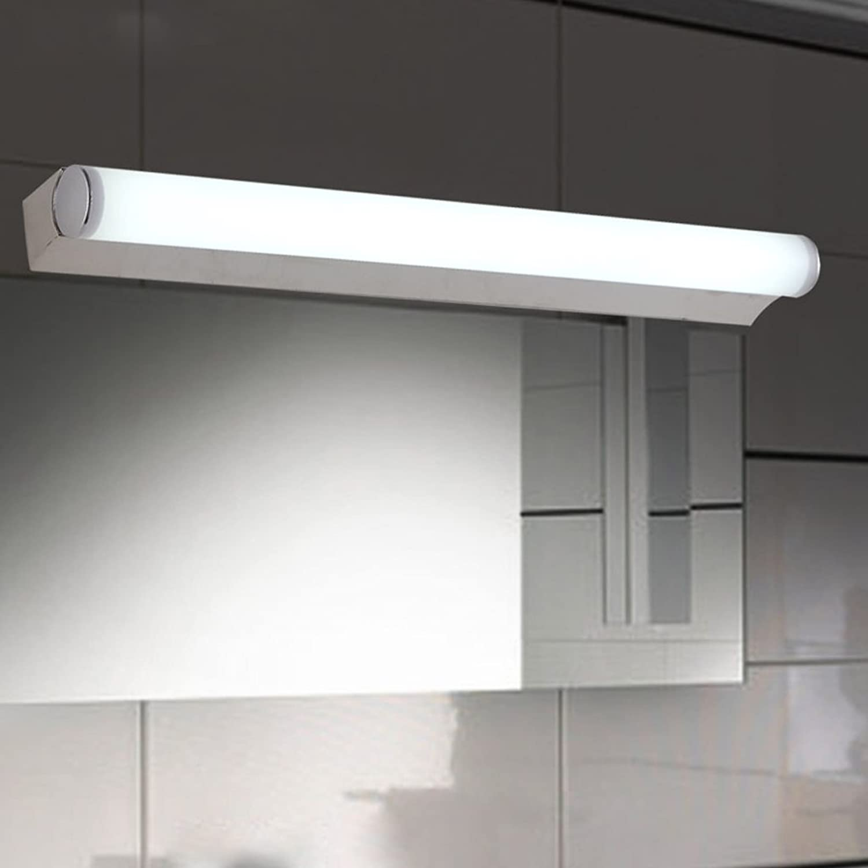 A LED-Spiegel-vorderes Licht-einfaches modernes Edelstahl-Badezimmer-WC-Licht-Spiegel-Kabinett-Licht-Schlafzimmer-Wand-Lampen-Verfassungs-Licht ( Farbe   Warmes Licht-454.5CM )