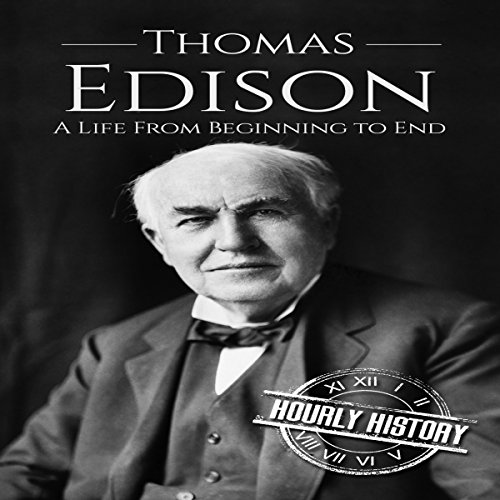 Thomas Edison audiobook cover art