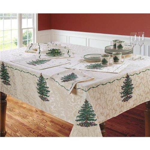 Spode Christmas Tree Tablecloth 60' x 102'