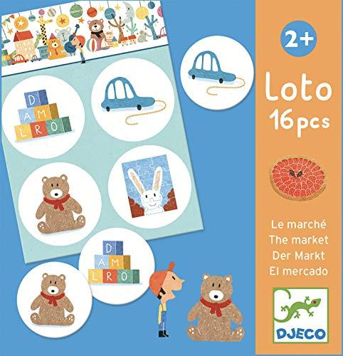 Djeco Jeux d'action et Reflejosjuegos educativosDjecoeducativos Lotus Le marché Multicolore 15 - Version Espagnole