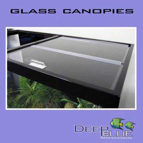 Deep Blue Professional Glass Canopy 48x18