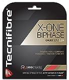 TECNIFIBRE X-ONE Biphase Tennissaitenset, Rot, 1.24mm -
