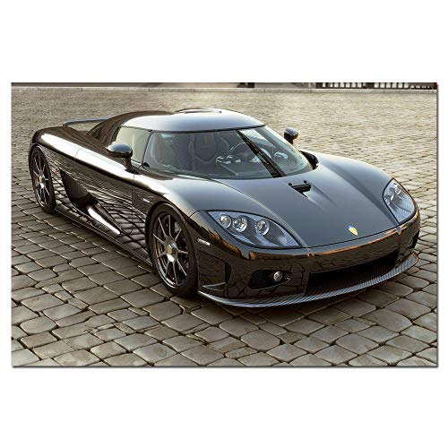 Koenigsegg CCX Super Car Poster Canvas Paintings Wall Art Pictures Prints for Living Room Home Decor 60x90cm No Frame