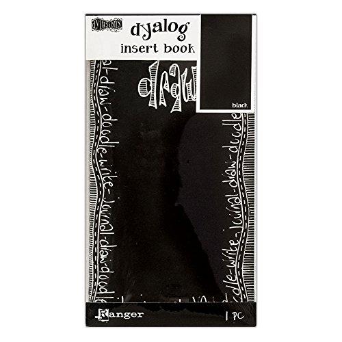 Ranger Dylusions Insert Book, Paper, Black, 21.1 x 11.5 x 0.7 cm