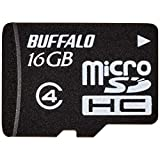 BUFFALO 防水仕様 Class4対応 microSDHC 16GB RMSD-BS16GB