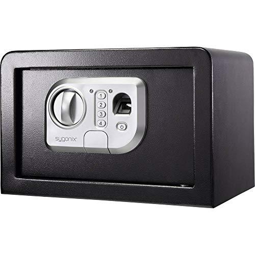 sygonix SY-3521254 SY-31BS Wertschutzschrank Fingerabdruckschloss, Zahlenschloss