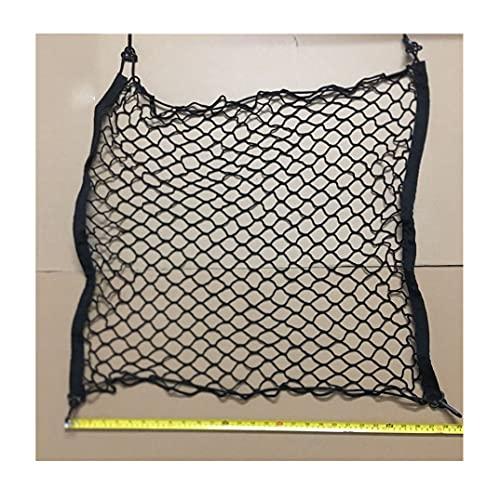 BUYD Red de Equipaje Tronco Trasero Almacenamiento de Carga Equipaje Malla Elástica Net Soporte Kit de Cobertura Nylon