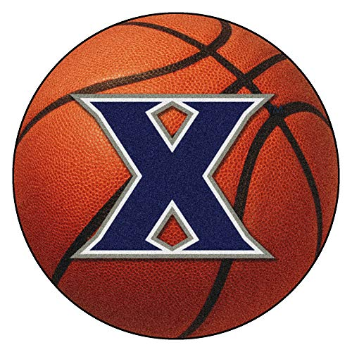 FANMATS NCAA Xavier University Musketeers Nylon Face Basketball Rug