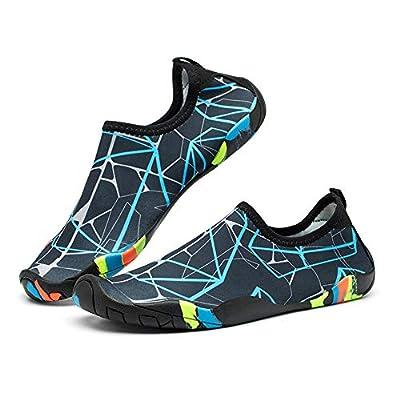 SaphiRose Sports Water Shoes Barefoot Quick-Dry Aqua Yoga Socks for Men Women Kids