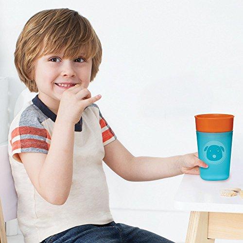 Skip Hop Zoo Trinklernbecher Übungstasse, für Kinder, mehrfarbig, Marienkäfer - 2