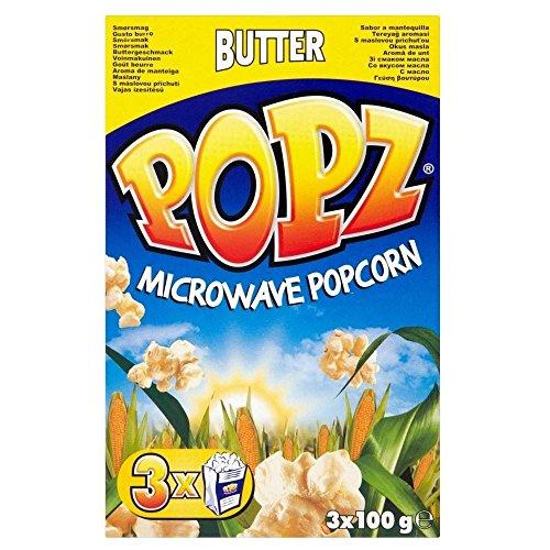 Popz Popcorn A Microonde - Burro (3X100g)