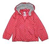 Carter's Little Girls Toddler Poppy Red Heart Print Windbreaker Jacket, Poppy Red (2T)
